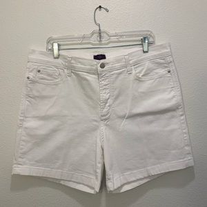 Not Your Daughter's Jeans white jean short